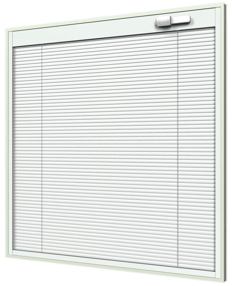 Blink Blinds + Glass - blinds between glass for single/double hung windows - tilt operator