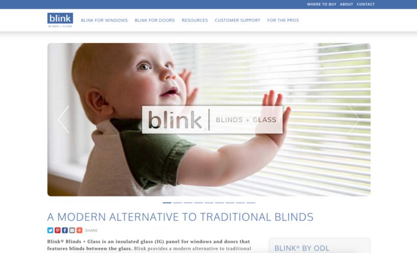Blink® Blinds + Glass Featured In Door & Window Market Magazine