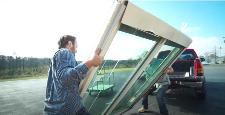 Blinds Between Glass Handling & Transportation